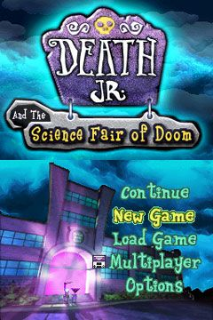 Death Jr. and the Science Fair of Doom (DS)  Archiv - Screenshots - Bild 2