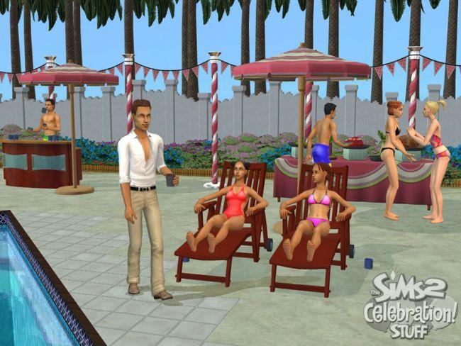 Die Sims 2: Party-Accessoires  - Screenshots - Bild 7