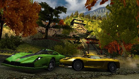 Burnout Dominator (PSP)  Archiv - Screenshots - Bild 5