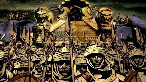 300: March to Glory (PSP)  Archiv - Screenshots - Bild 17