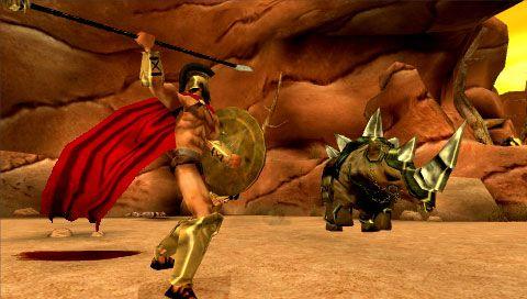 300: March to Glory (PSP)  Archiv - Screenshots - Bild 8