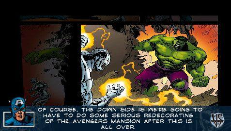 Marvel Trading Card Game (PSP)  Archiv - Screenshots - Bild 10
