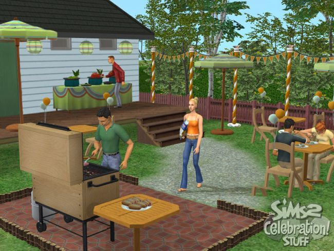 Die Sims 2: Party-Accessoires  - Screenshots - Bild 10