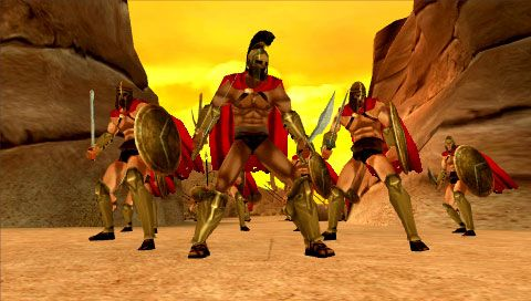 300: March to Glory (PSP)  Archiv - Screenshots - Bild 16
