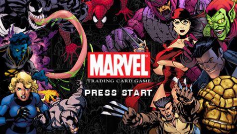 Marvel Trading Card Game (PSP)  Archiv - Screenshots - Bild 2