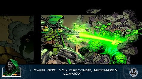 Marvel Trading Card Game (PSP)  Archiv - Screenshots - Bild 4