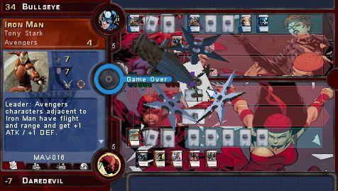Marvel Trading Card Game (PSP)  Archiv - Screenshots - Bild 17