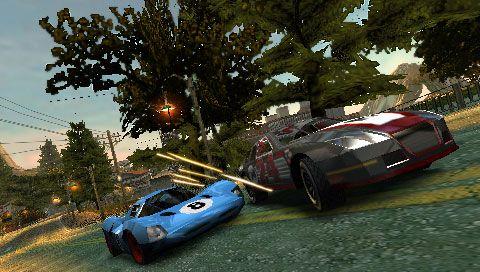 Burnout Dominator (PSP)  Archiv - Screenshots - Bild 2