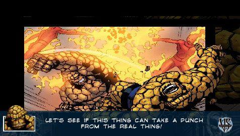 Marvel Trading Card Game (PSP)  Archiv - Screenshots - Bild 7