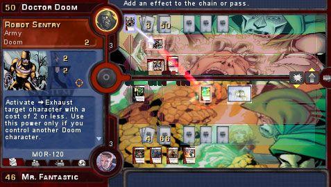Marvel Trading Card Game (PSP)  Archiv - Screenshots - Bild 14