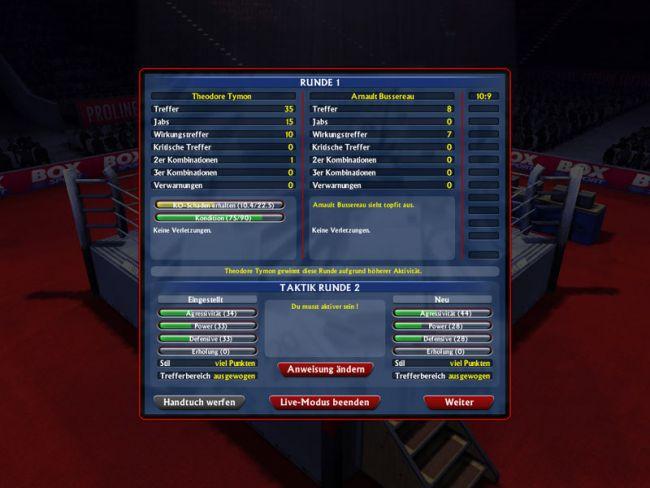 Boxsport Manager  Archiv - Screenshots - Bild 6