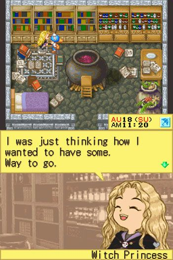 Harvest Moon DS (DS)  Archiv - Screenshots - Bild 7