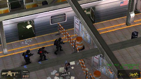 SWAT: Target Liberty (PSP)  Archiv - Screenshots - Bild 6