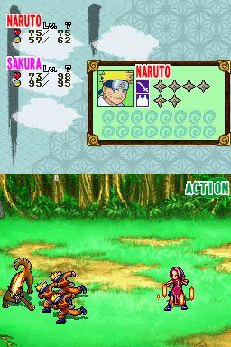 Naruto: Path of the Ninja (DS)  Archiv - Screenshots - Bild 4
