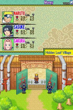 Naruto: Path of the Ninja (DS)  Archiv - Screenshots - Bild 7