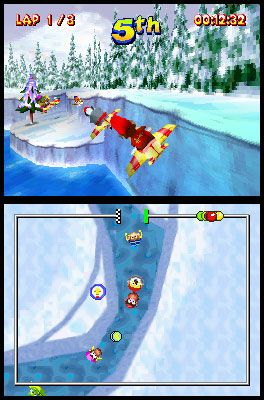 Diddy Kong Racing DS (DS)  Archiv - Screenshots - Bild 5