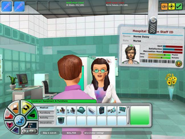 Hospital Tycoon  Archiv - Screenshots - Bild 19