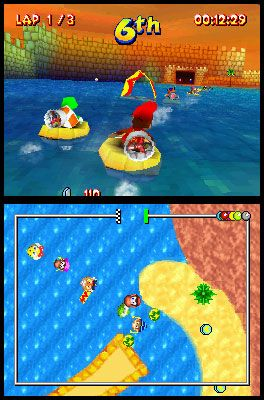 Diddy Kong Racing DS (DS)  Archiv - Screenshots - Bild 13