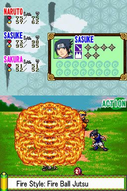 Naruto: Path of the Ninja (DS)  Archiv - Screenshots - Bild 3