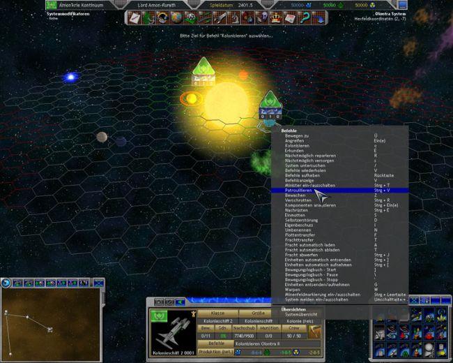 Space Empires 5  Archiv - Screenshots - Bild 18