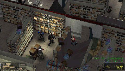SWAT: Target Liberty (PSP)  Archiv - Screenshots - Bild 4