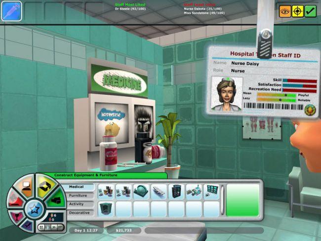 Hospital Tycoon  Archiv - Screenshots - Bild 21