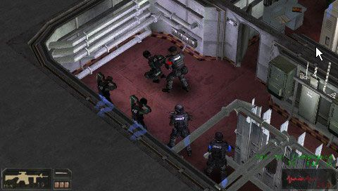 SWAT: Target Liberty (PSP)  Archiv - Screenshots - Bild 5