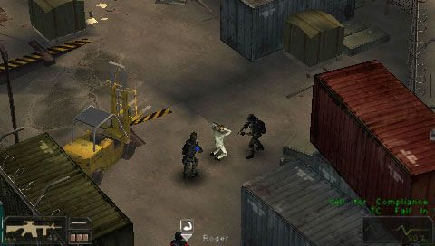 SWAT: Target Liberty (PSP)  Archiv - Screenshots - Bild 8