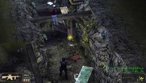 SWAT: Target Liberty (PSP)  Archiv - Screenshots - Bild 9