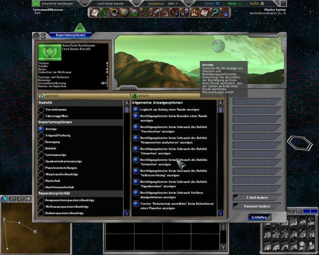 Space Empires 5  Archiv - Screenshots - Bild 31