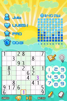 Platinum Sudoku (DS)  Archiv - Screenshots - Bild 2