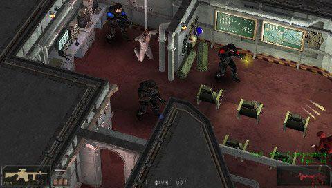 SWAT: Target Liberty (PSP)  Archiv - Screenshots - Bild 3