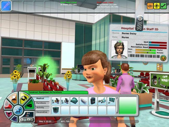 Hospital Tycoon  Archiv - Screenshots - Bild 20
