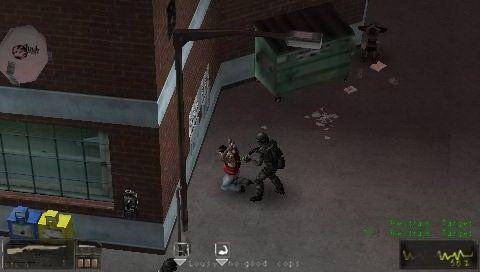 SWAT: Target Liberty (PSP)  Archiv - Screenshots - Bild 2