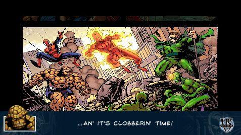 Marvel Trading Card Game (PSP)  Archiv - Screenshots - Bild 8
