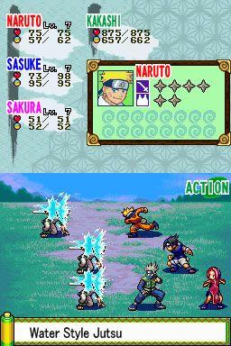 Naruto: Path of the Ninja (DS)  Archiv - Screenshots - Bild 2