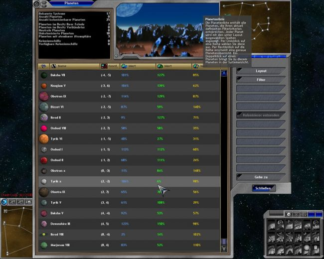 Space Empires 5  Archiv - Screenshots - Bild 21