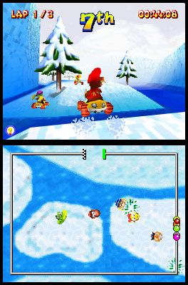 Diddy Kong Racing DS (DS)  Archiv - Screenshots - Bild 7