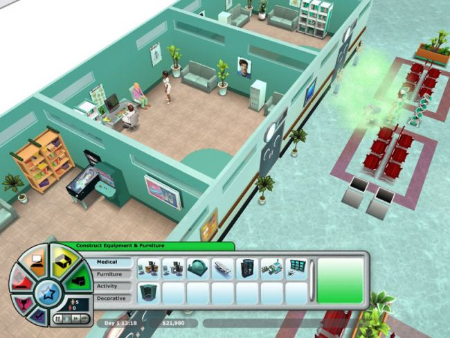 Hospital Tycoon  Archiv - Screenshots - Bild 24