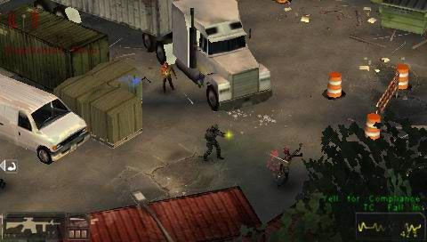 SWAT: Target Liberty (PSP)  Archiv - Screenshots - Bild 7