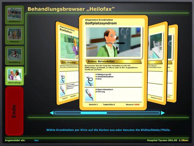 Hospital Tycoon  Archiv - Screenshots - Bild 7
