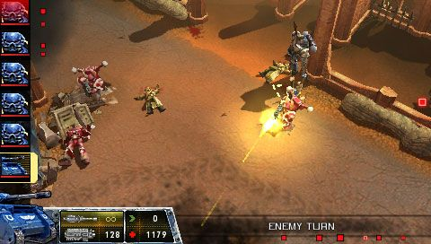 Warhammer 40.000: Squad Command (PSP)  Archiv - Screenshots - Bild 4