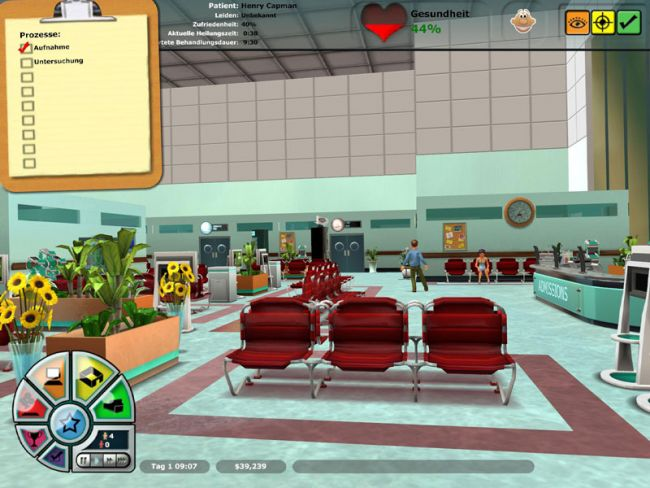Hospital Tycoon  Archiv - Screenshots - Bild 10