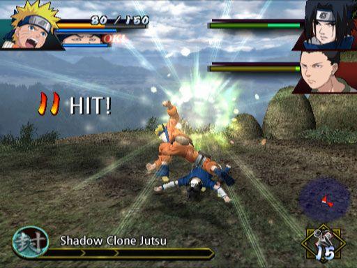 Naruto: Uzumaki Chronicles  Archiv - Screenshots - Bild 2