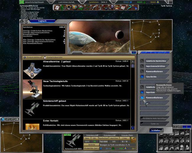Space Empires 5  Archiv - Screenshots - Bild 8
