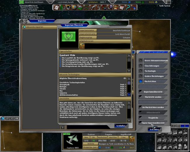 Space Empires 5  Archiv - Screenshots - Bild 16