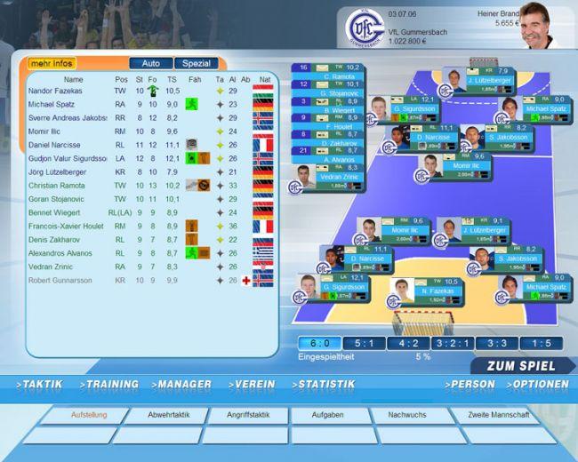 Handball Manager 2008  Archiv - Screenshots - Bild 14