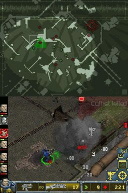 Warhammer 40.000: Squad Command (DS)  Archiv - Screenshots - Bild 3