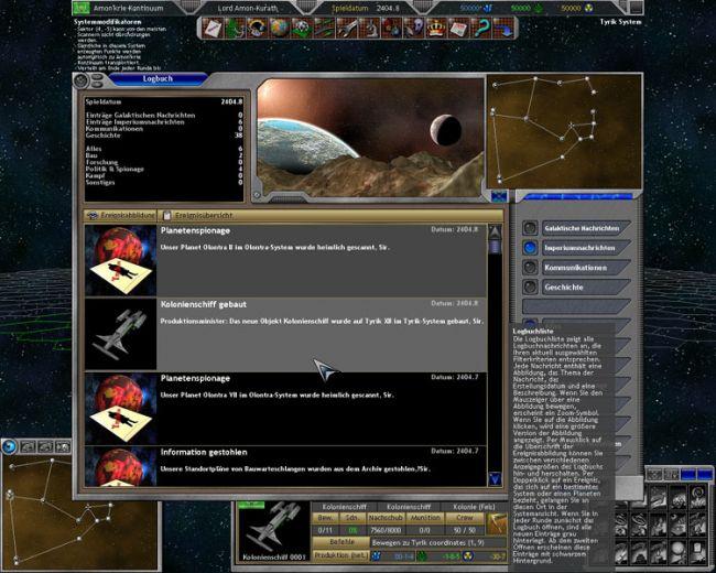 Space Empires 5  Archiv - Screenshots - Bild 7