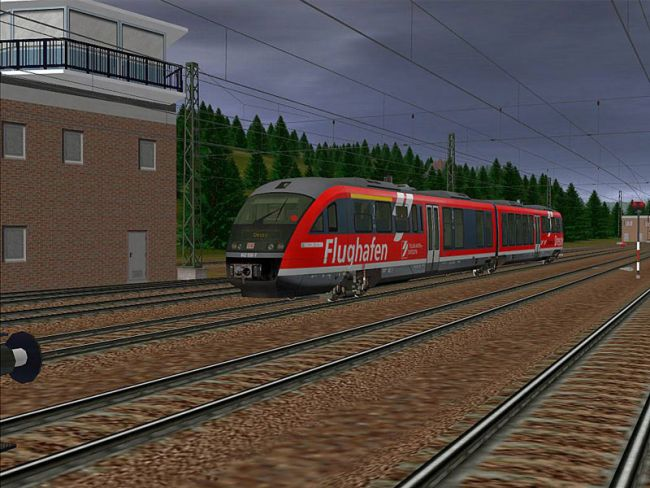 Trainz Railroad Simulator 2007  Archiv - Screenshots - Bild 4